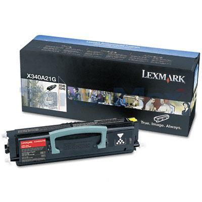 LEXMARK X340N TONER CARTRIDGE BLACK